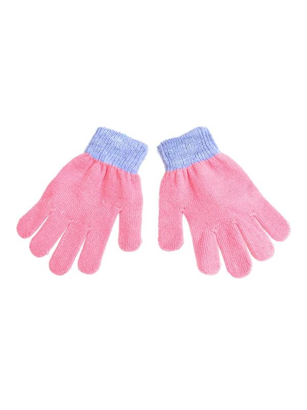 Перчатки розовые   5326340