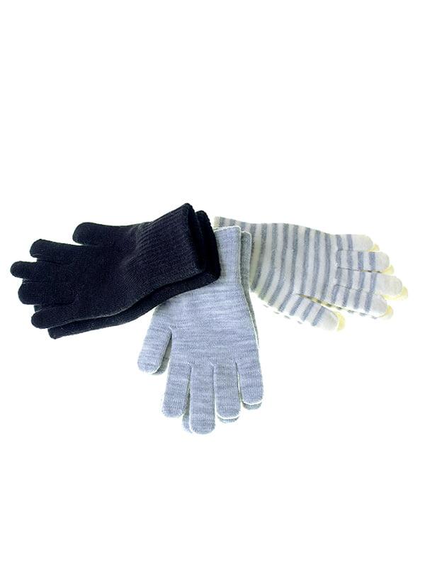 Набір рукавичок (3 пари) | 5326379
