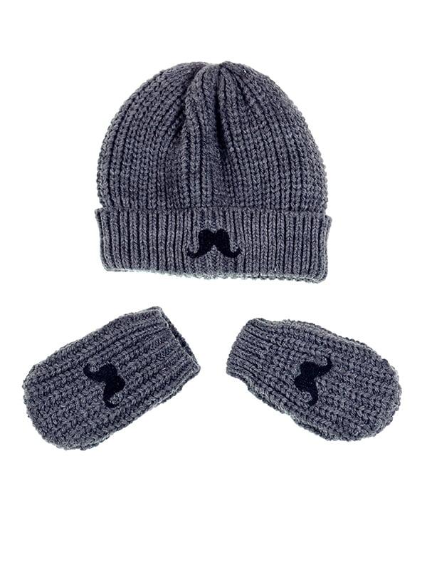 Комплект: шапка и рукавицы | 5326428
