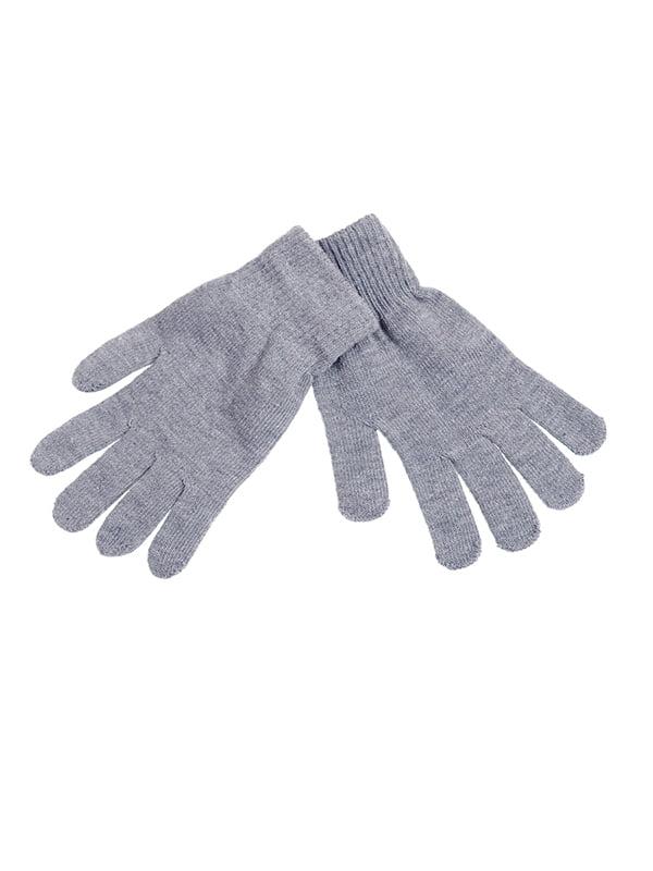 Перчатки серые | 5326460