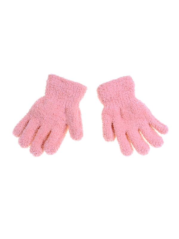 Рукавички рожеві | 5326481