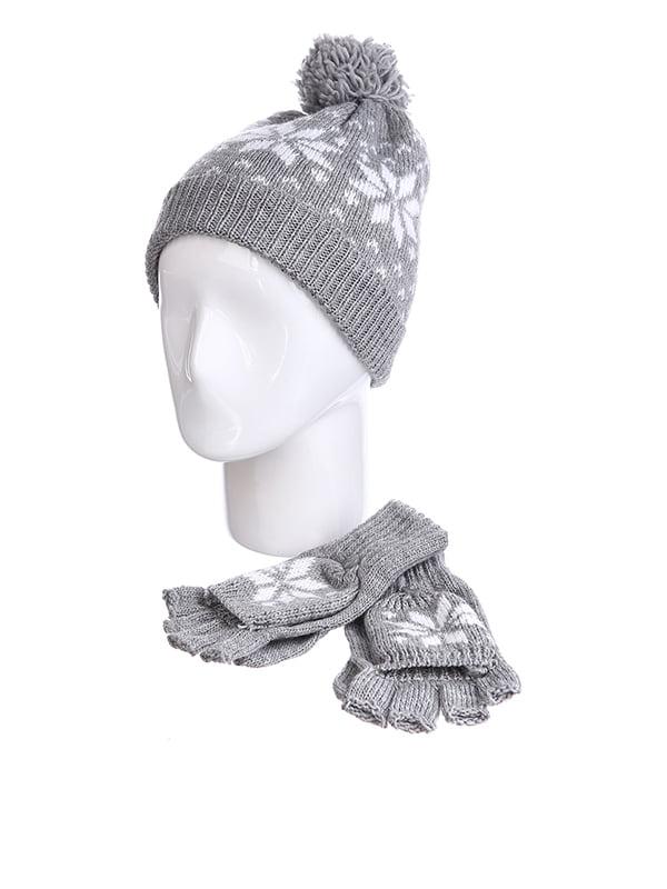 Комплект: шапка и перчатки | 5326714