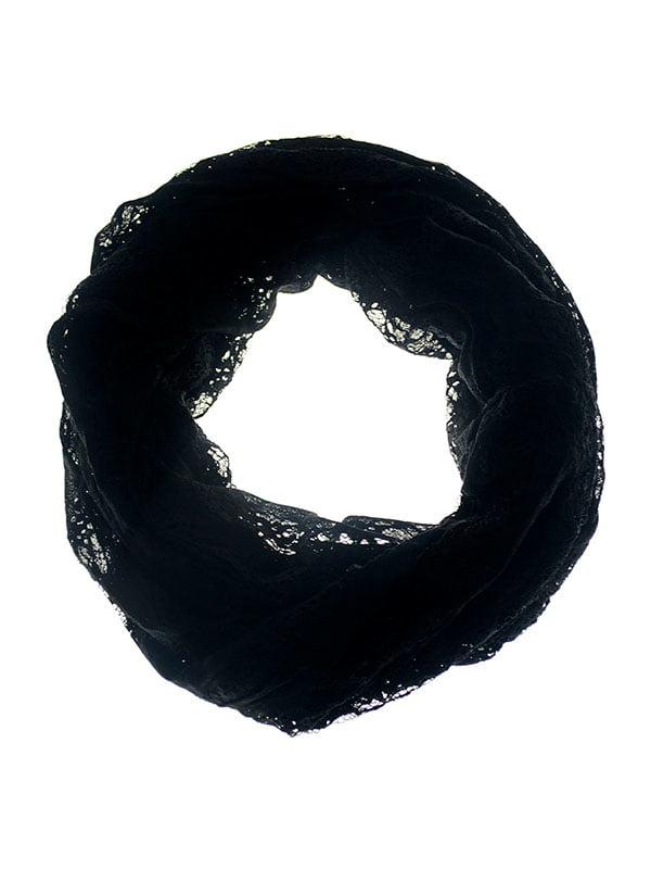 Шарф-снуд черный   5326761
