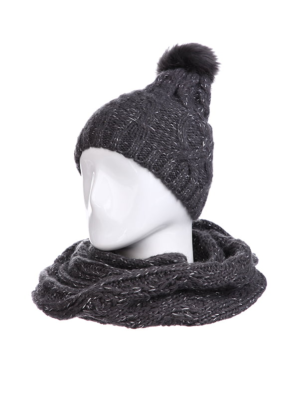 Комплект: шапка і шарф | 5326873