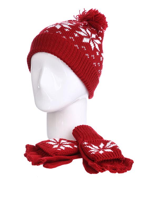 Комплект: шапка і рукавички | 5326876