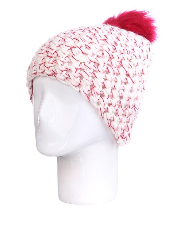 Шапка рожева меланжева | 5326882