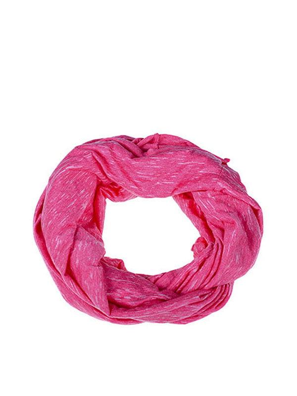 Шарф-снуд розовый | 5326733
