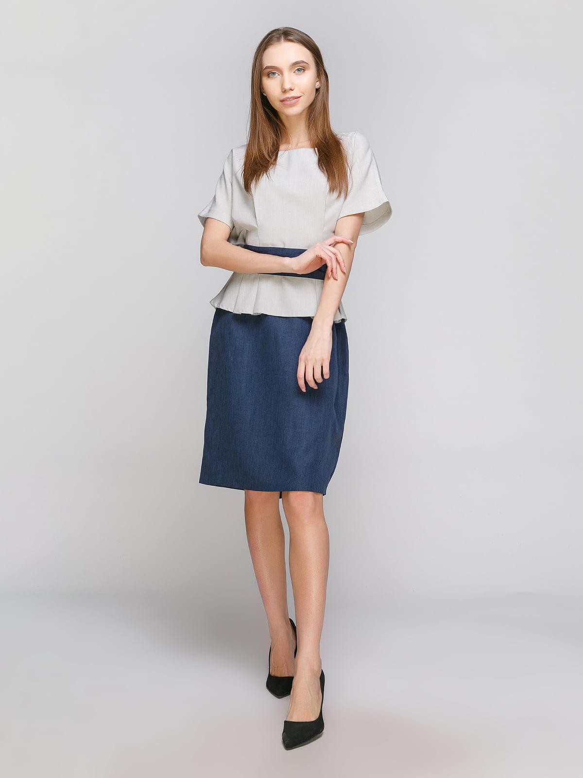 Сукня двоколірна | 4648620