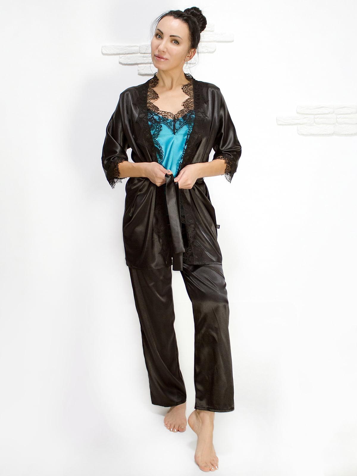 Комплект: майка, халат і штани | 5303157