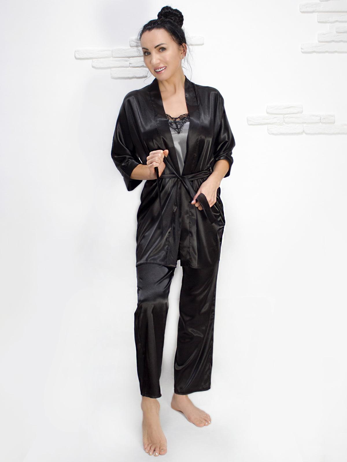 Комплект: майка, халат і штани | 5303179