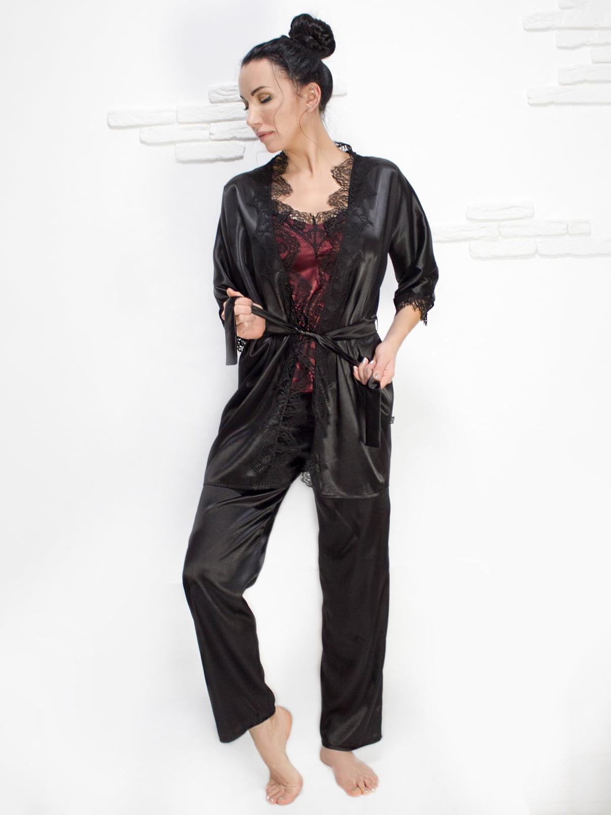Комплект: майка, халат і штани | 5303182