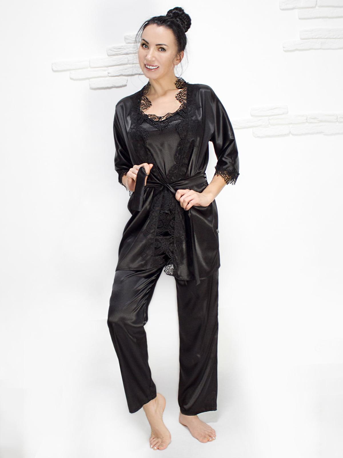 Комплект: майка, халат і штани | 5303183