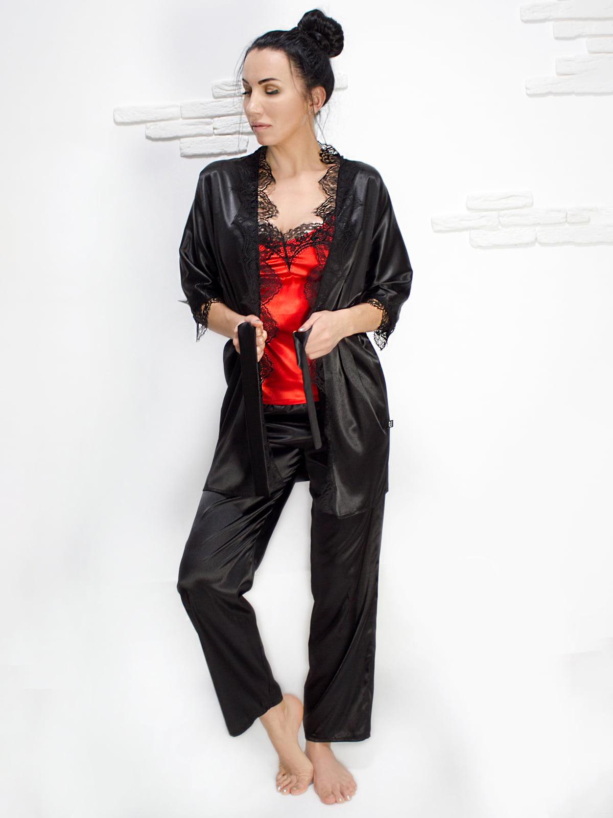 Комплект: майка, халат і штани | 5303185