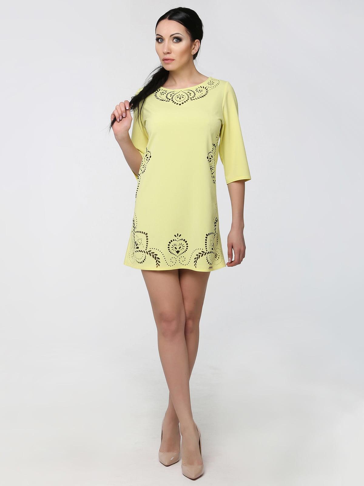 Сукня-туніка жовта | 5303250