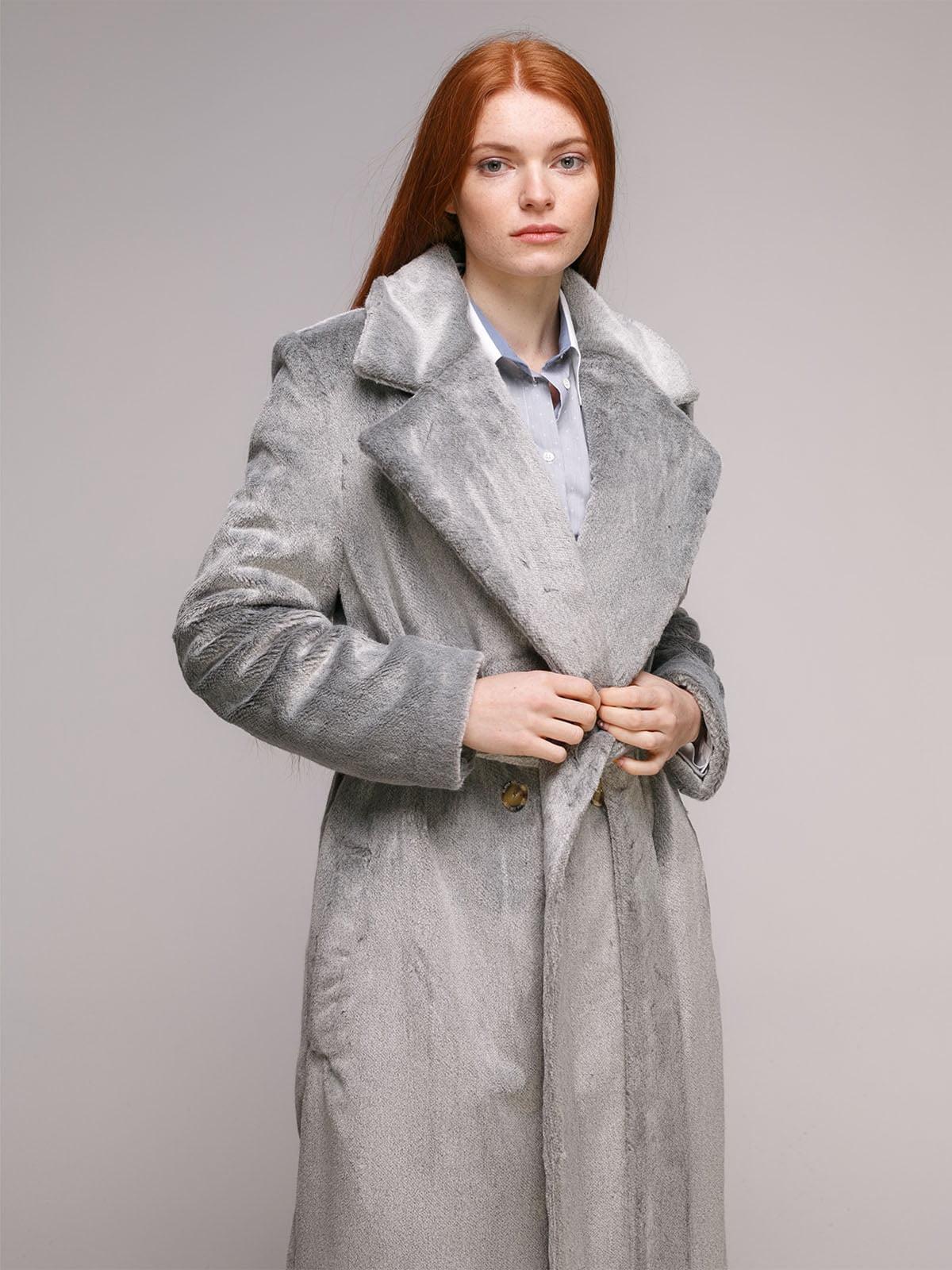 Пальто сіре   5287987
