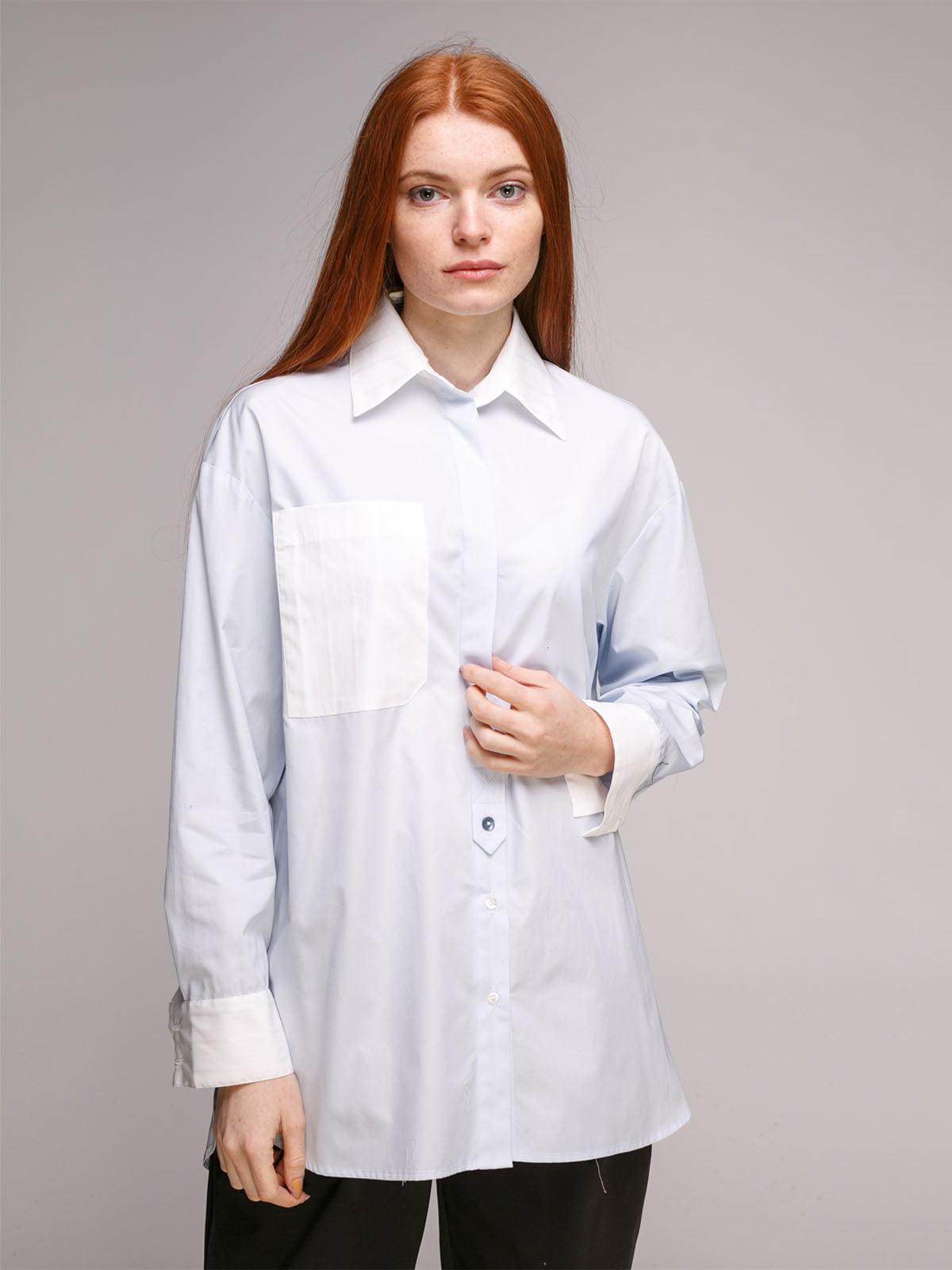 Блуза блакитна | 5318966