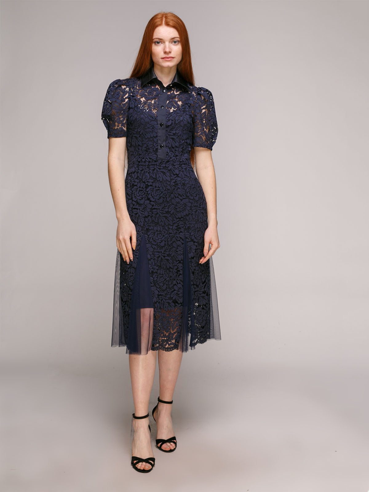 Сукня синьо-чорна | 5318998