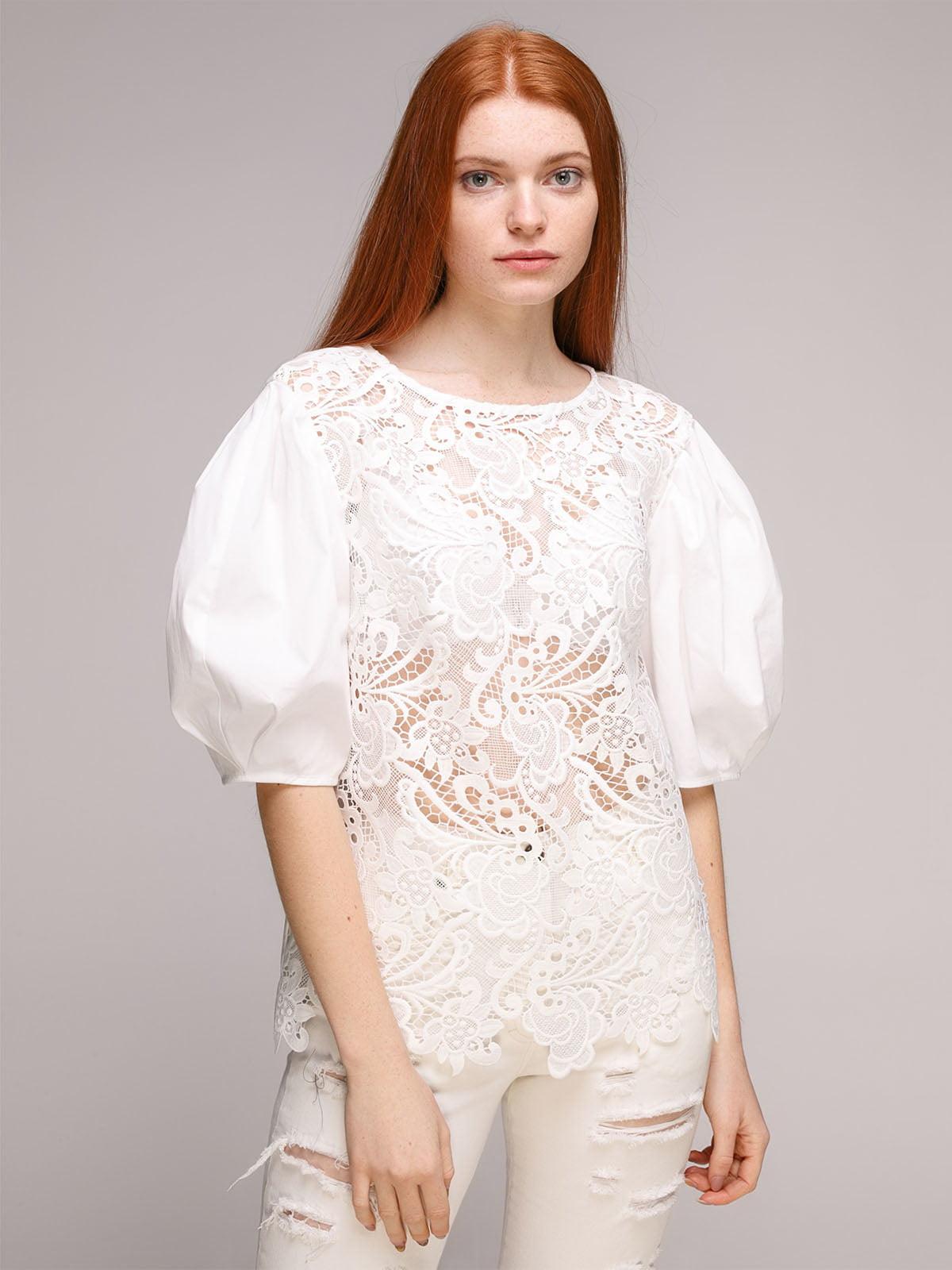 Блуза біла | 5318956