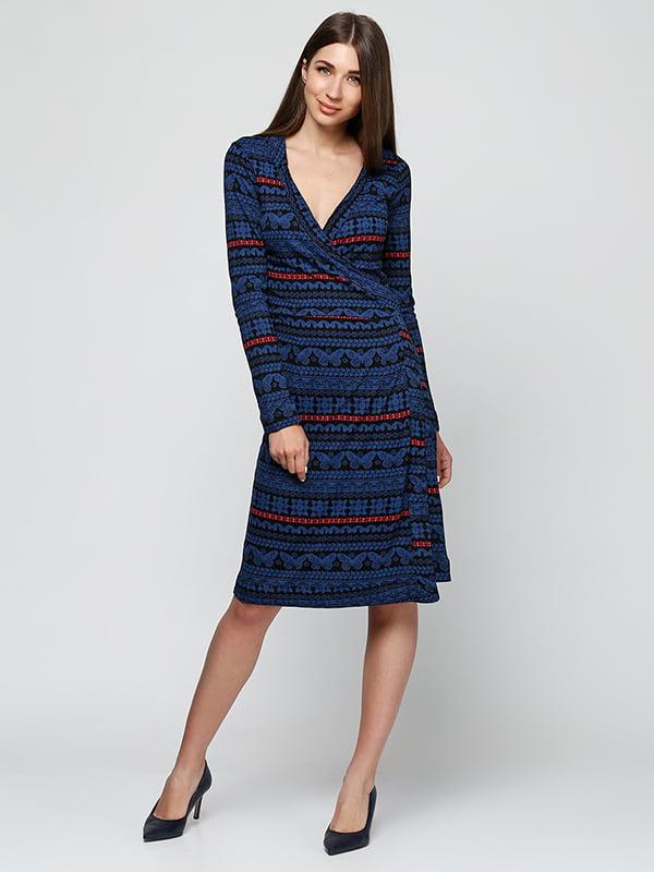 Платье синее   5325878