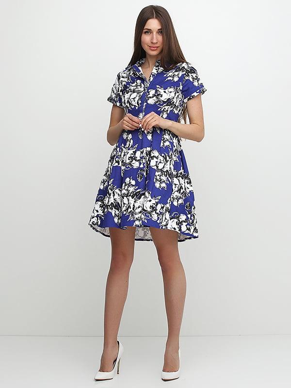 Платье синее   5326098