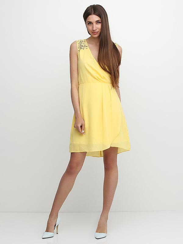 Платье желтое   5326566