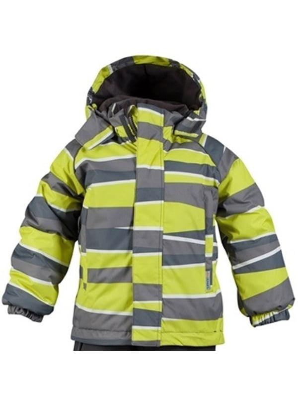 Куртка сіро-жовта | 4856545
