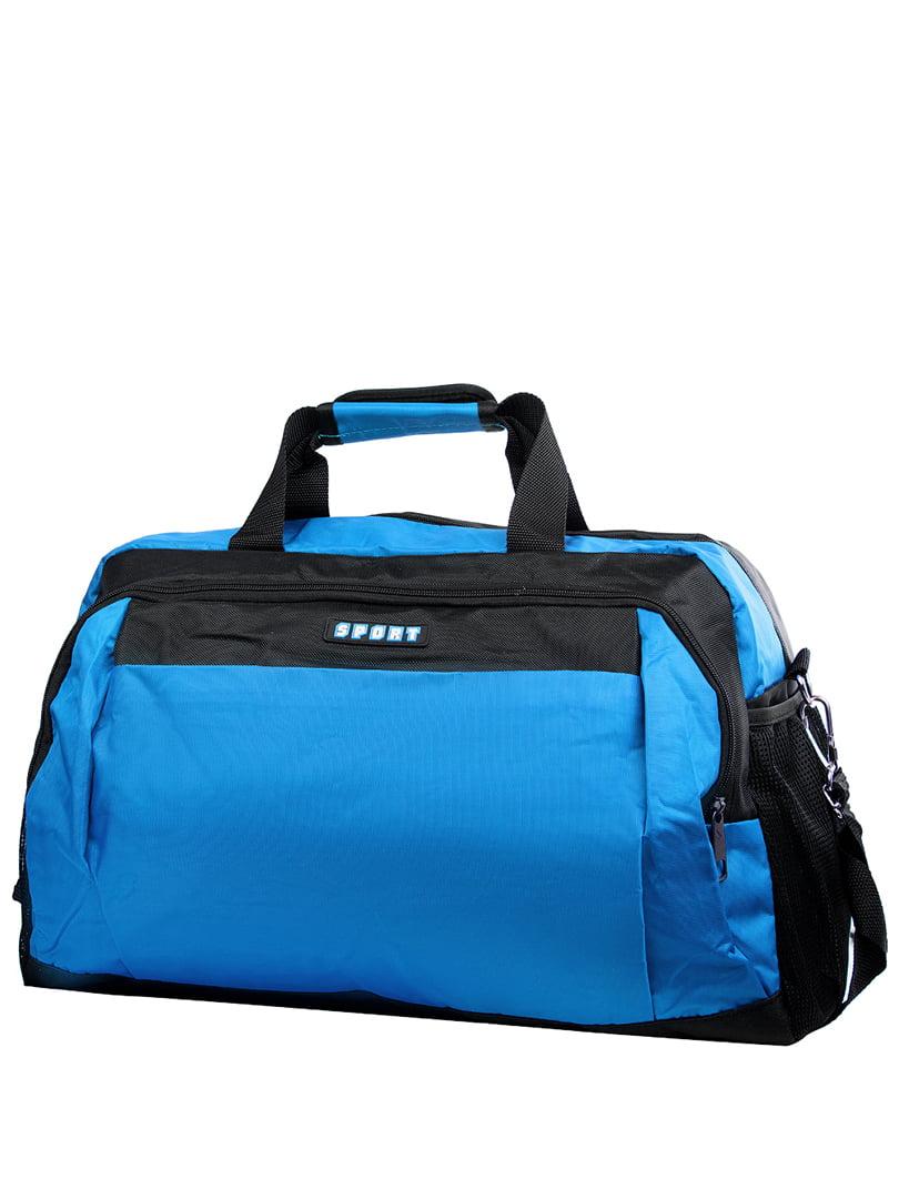 Сумка синьо--чорна спортивна   5337376