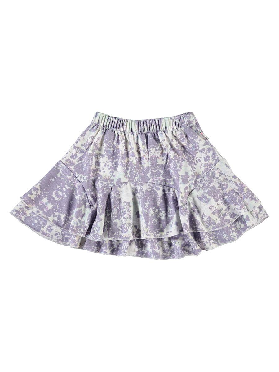 Спідниця біло-фіолетова   5340945