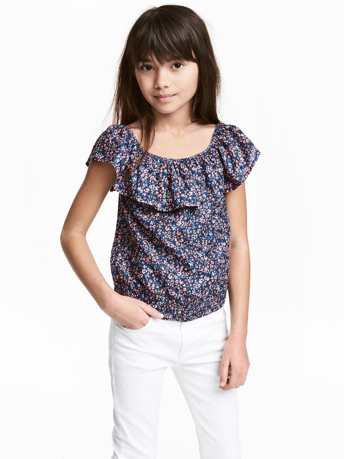 Блуза темно-синя | 5341060