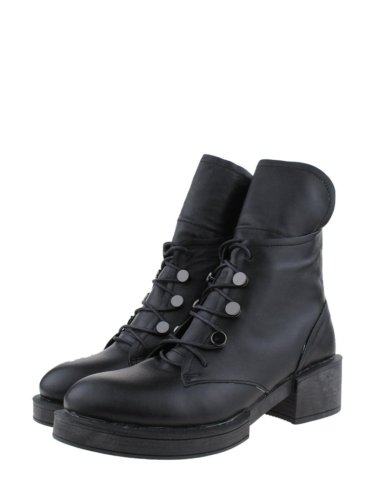 Черевики чорні | 5341388