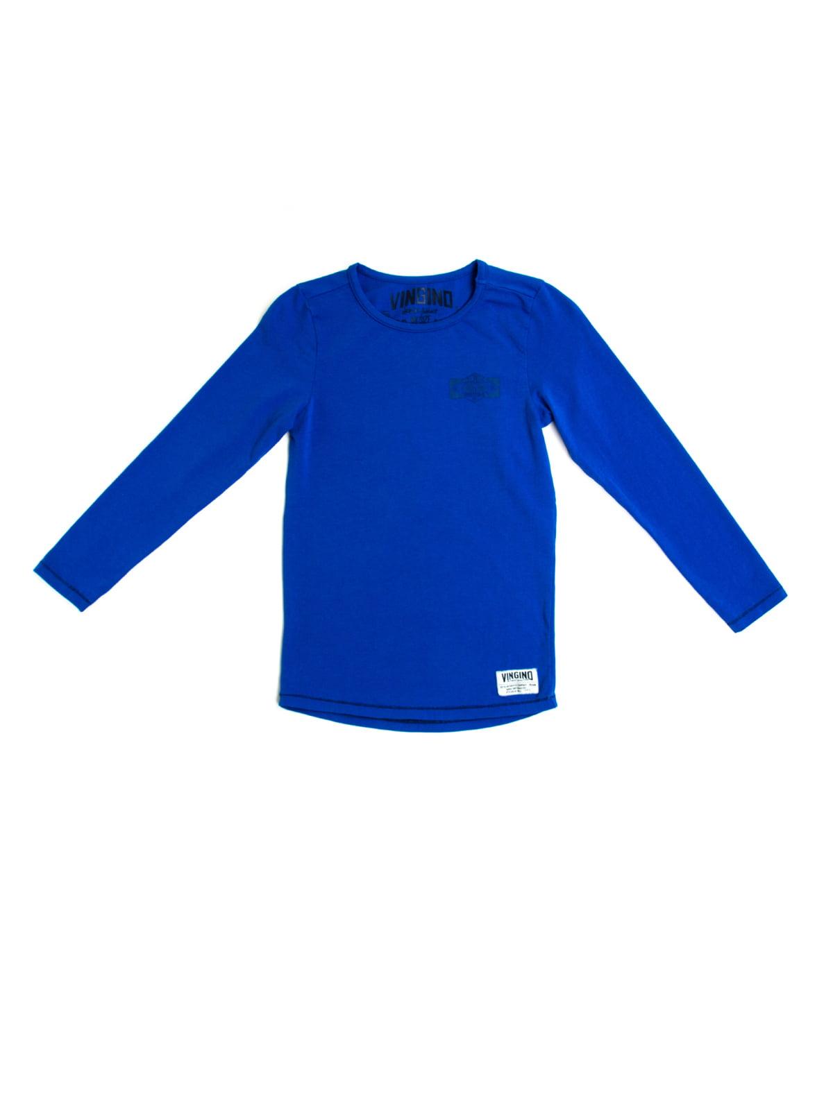 Лонгслів синій | 5339519