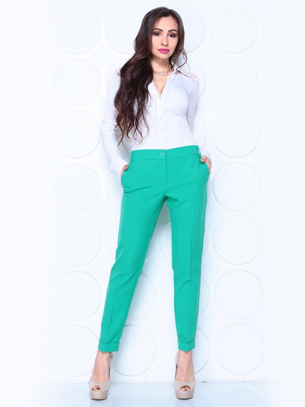 Штани зелені | 5343180