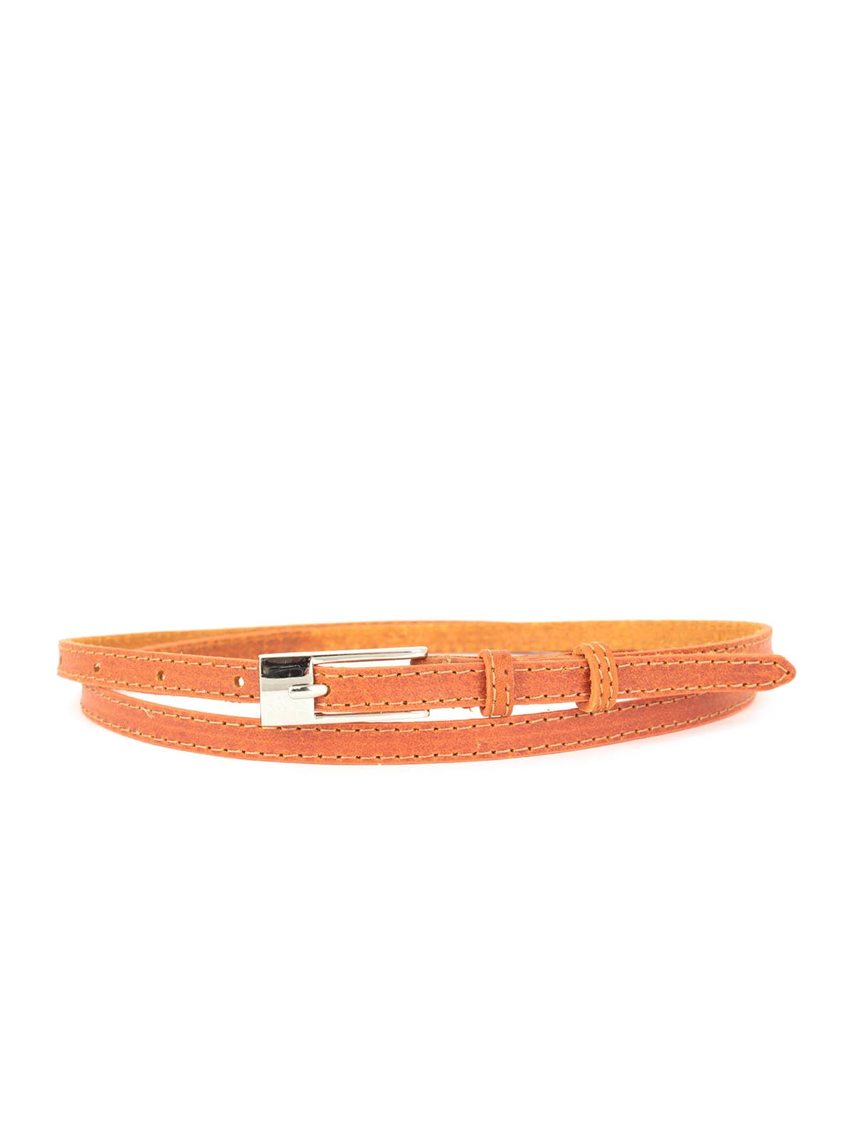 Ремень морковного цвета | 5344117