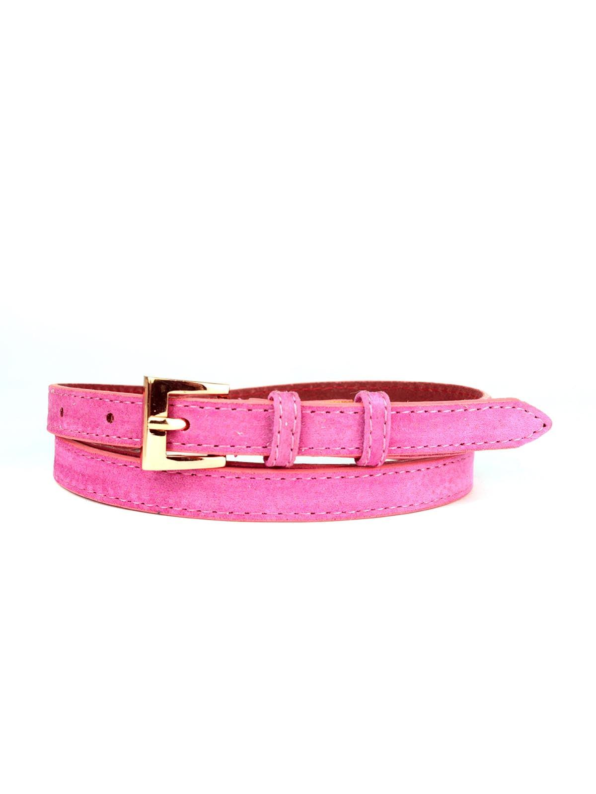 Ремень розовый | 5344127