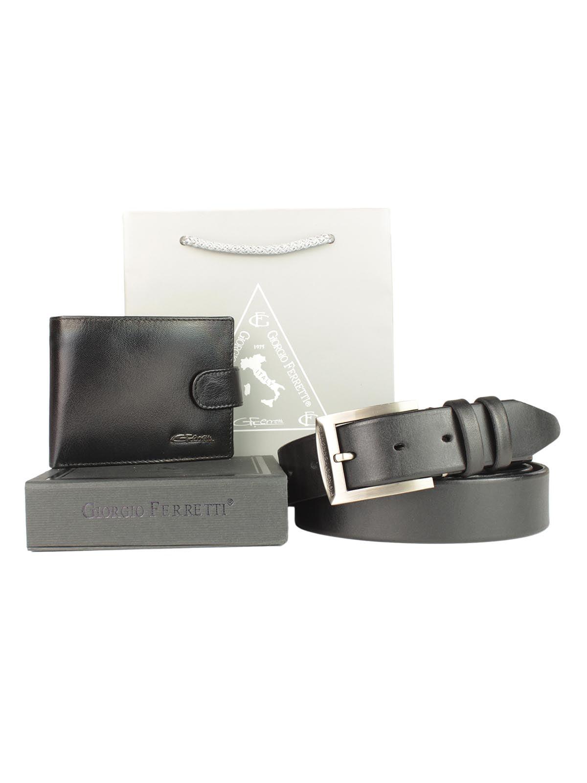 Набір подарунковий: портмоне і ремінь   5344193