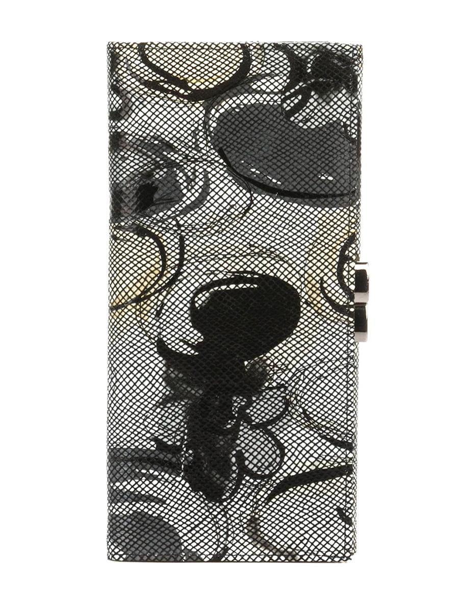 Гаманець сірий з принтом | 5344312