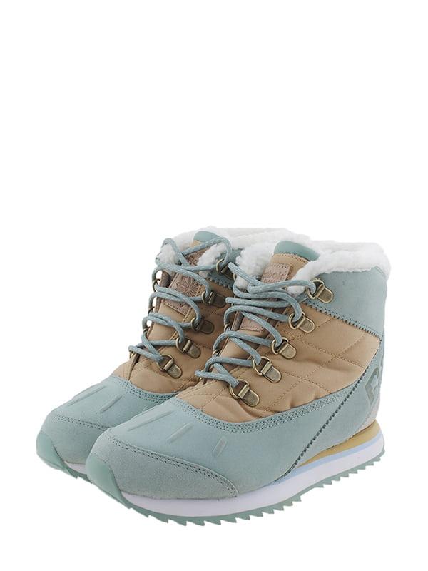 Кросівки м'ятно-бежевого кольору | 5345713