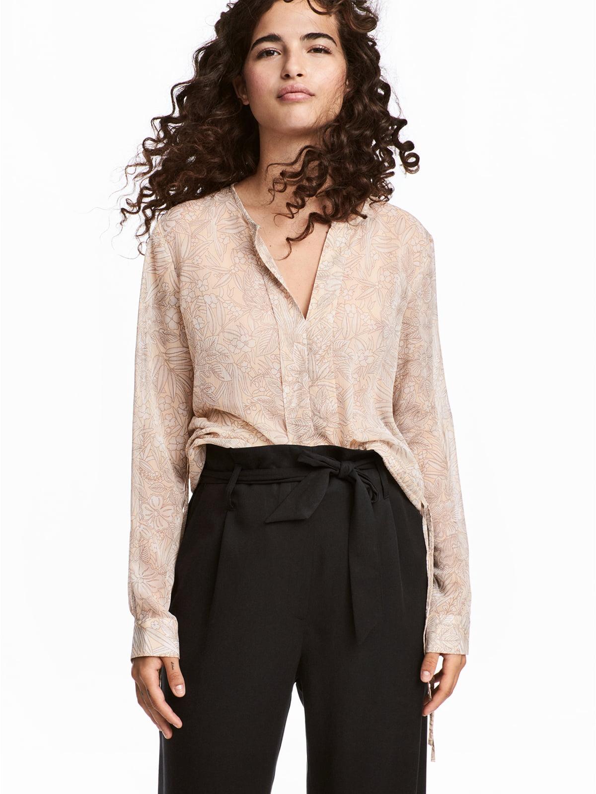 Блуза бежева | 5345947