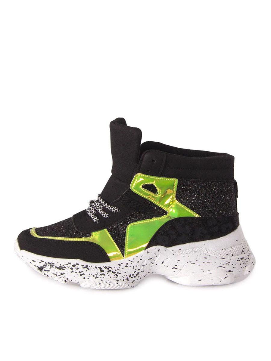 Кроссовки черно-белые | 5347253