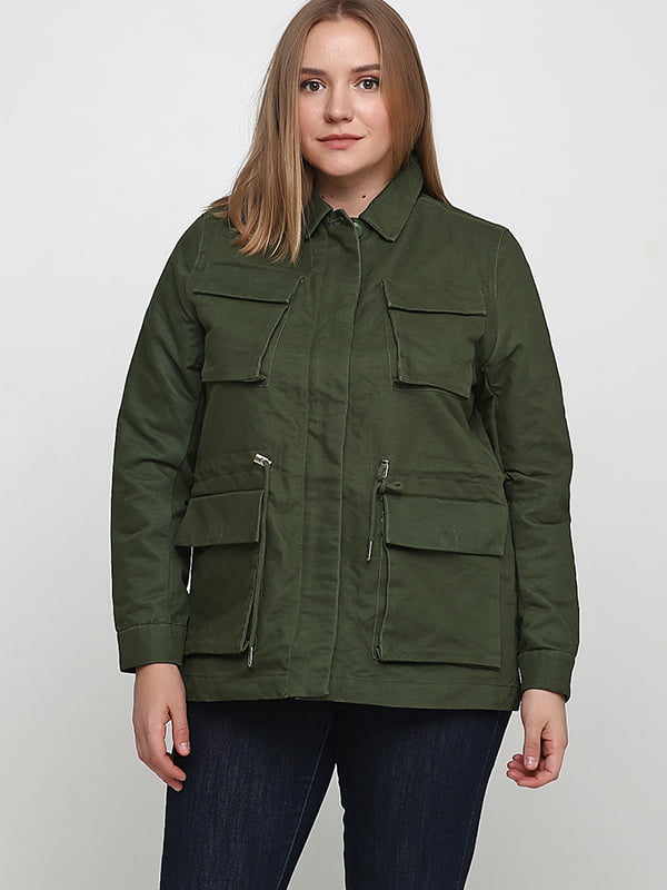 Куртка зелена | 5348773