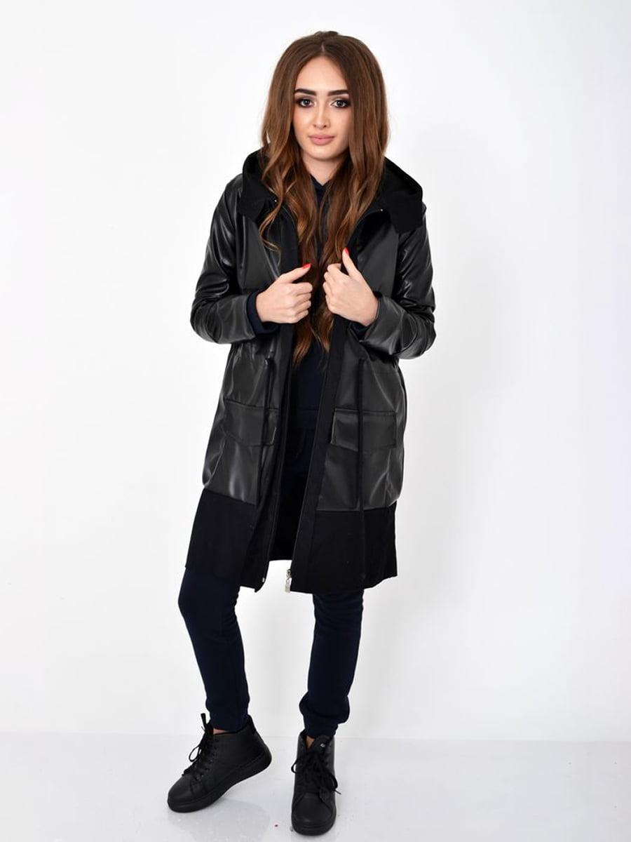 Куртка чорна | 5275825