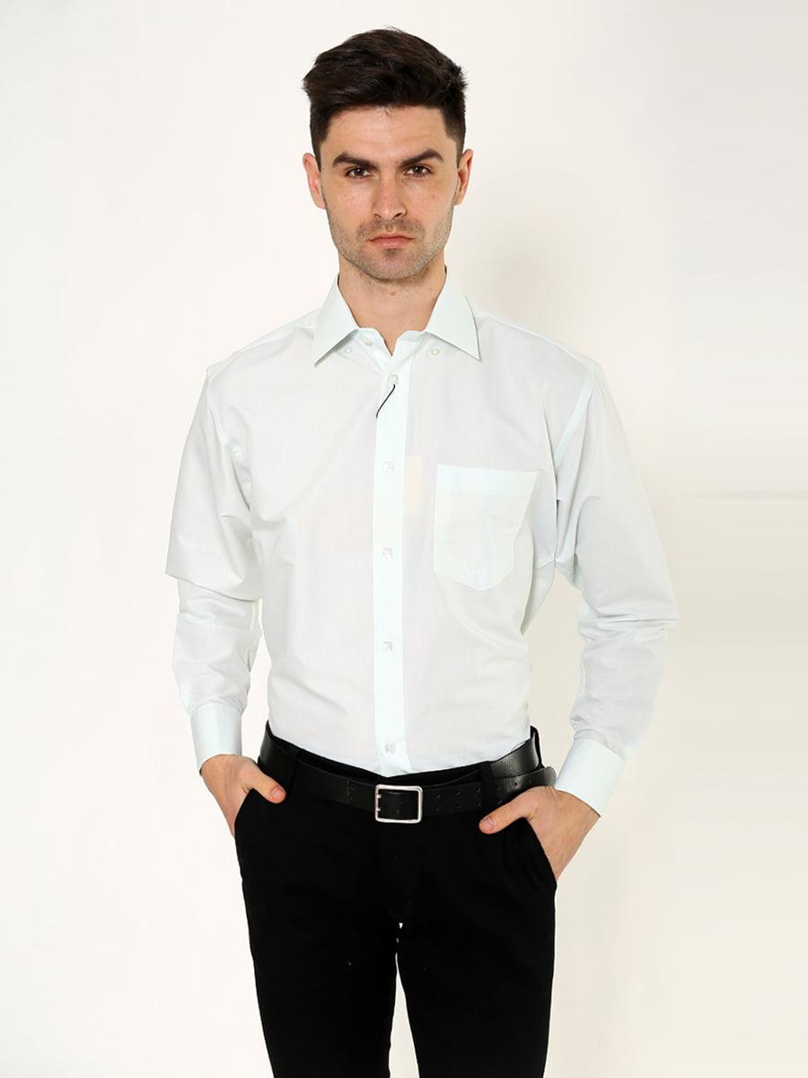 Рубашка цвета мяты   5276280