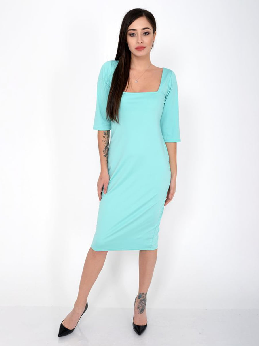 Платье бирюзовое | 5287727