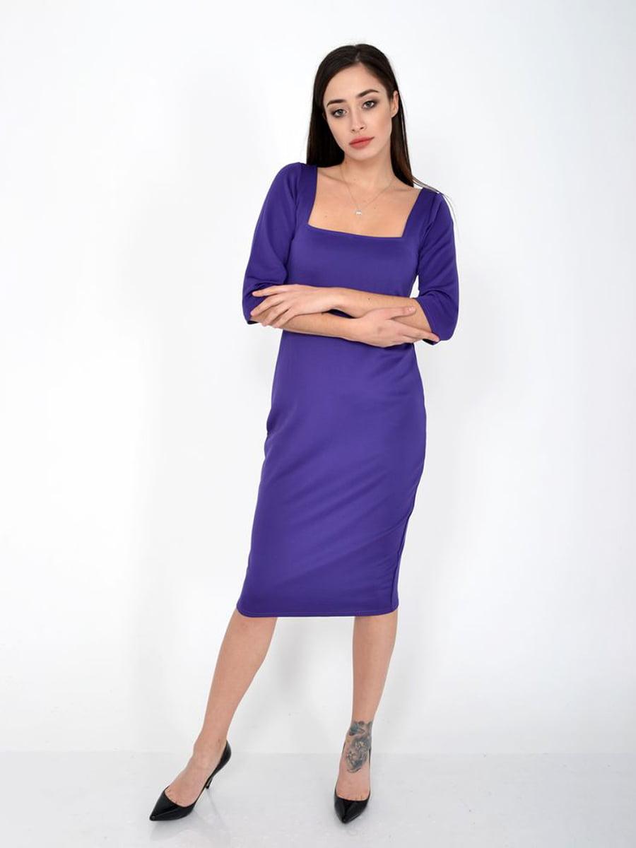 Платье фиолетовое   5287731