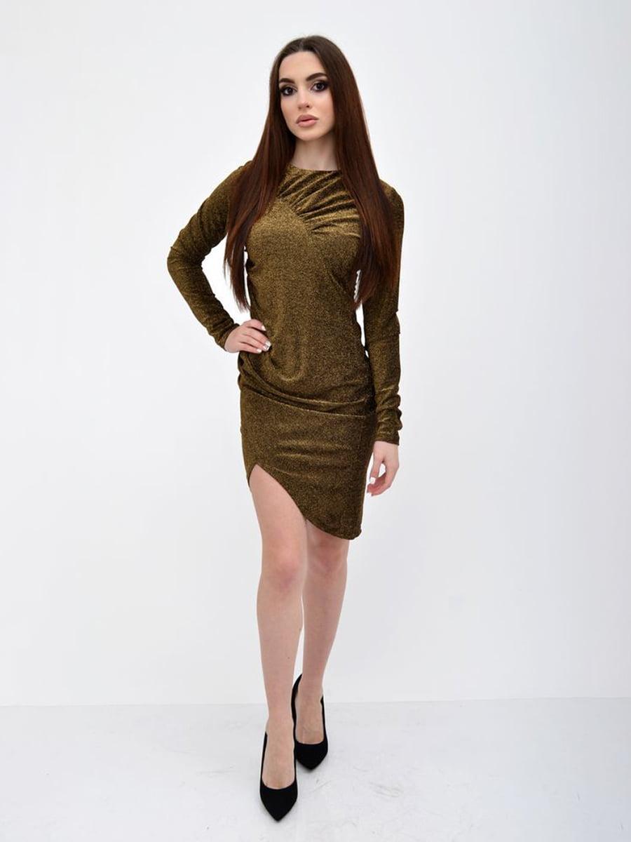 Платье золотистого цвета | 5299198