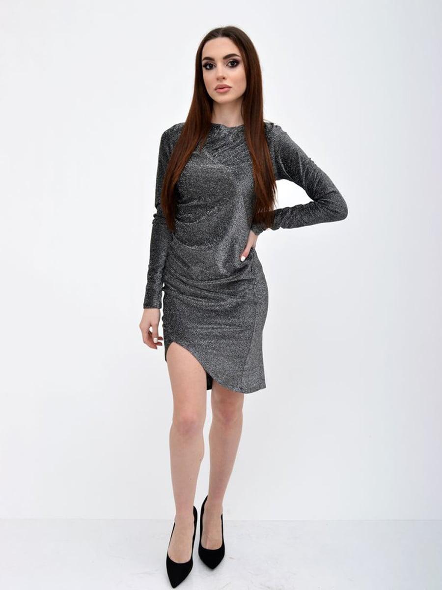 Платье серебристого цвета | 5299199
