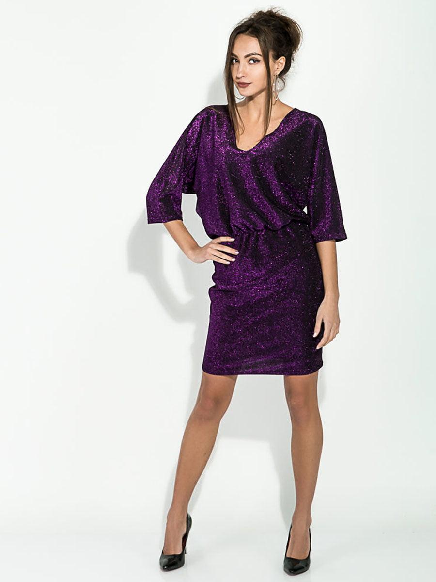 Платье фиолетовое | 5306285