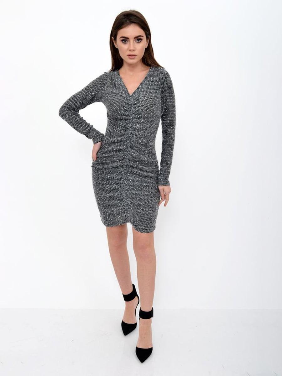 Платье черно-серое | 5306297