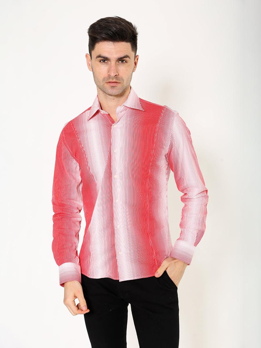 Рубашка красно-белая | 5306334