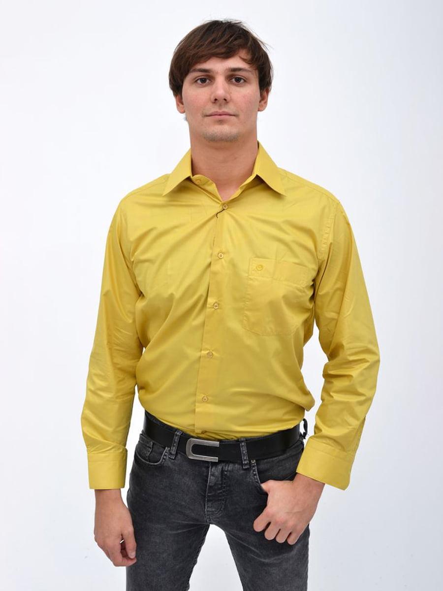 Рубашка желтая | 5306343